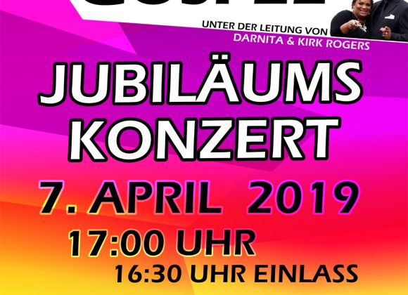 "Jubiläums – Gospelkonzert mit ""Joy of Gospel"""