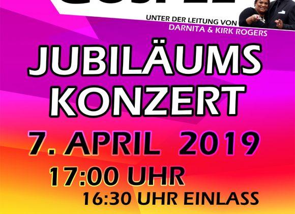 "Jubiläums – Gospelkonzert mit ""Joy of Gospel"""